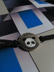 Pulsera Panda con Nombre (3)